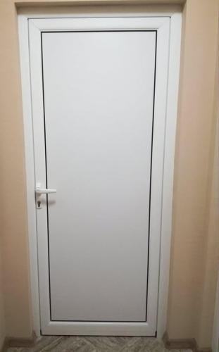 ал. врата с термопанел